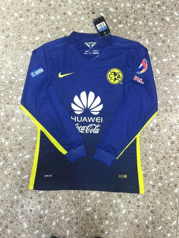b8dcd888c13 Club America Jersey 2015/16 Away LS Soccer Shirt | 2015 cheap soccer ...