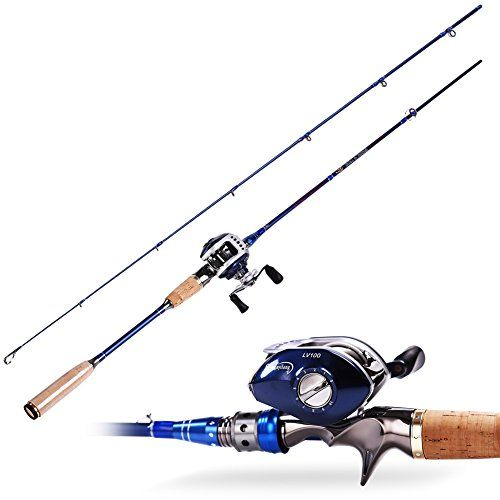 Sougayilang spinning baitcasting fishing rod with fishing for Best rod and reel combo for bass fishing