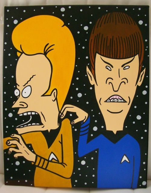 Beavis & Butthead Star Trek