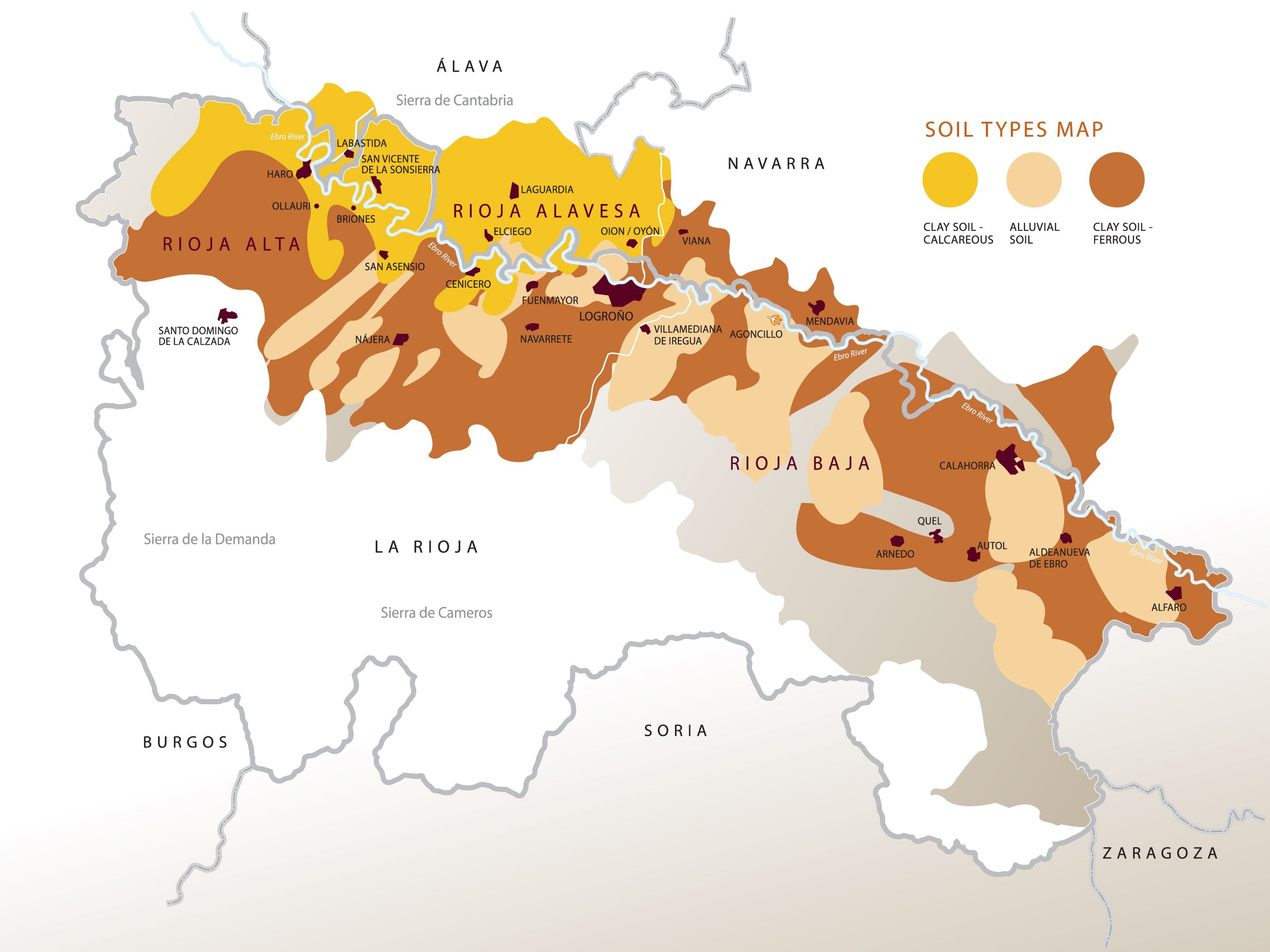 Rioja Region Spain Map.Rioja Wine Region Of Spain Bilbao Rioja Pinterest Rioja Wine