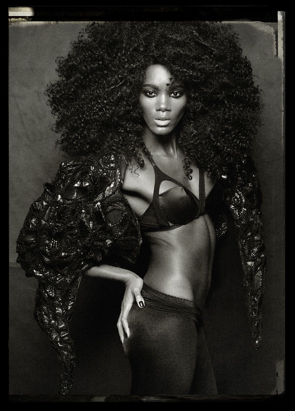 Black fire stella vaudran for oob magazine online black x white natural hair styles black - Porno dive anni 90 ...