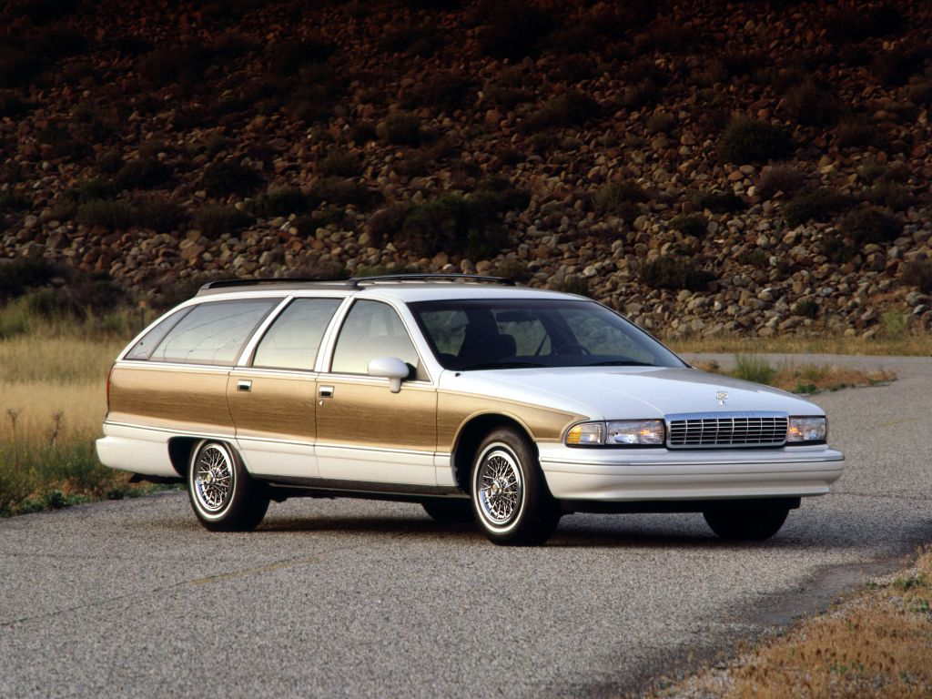 1993 94 Chevrolet Caprice Classic Station Wagon 1992 94 Station