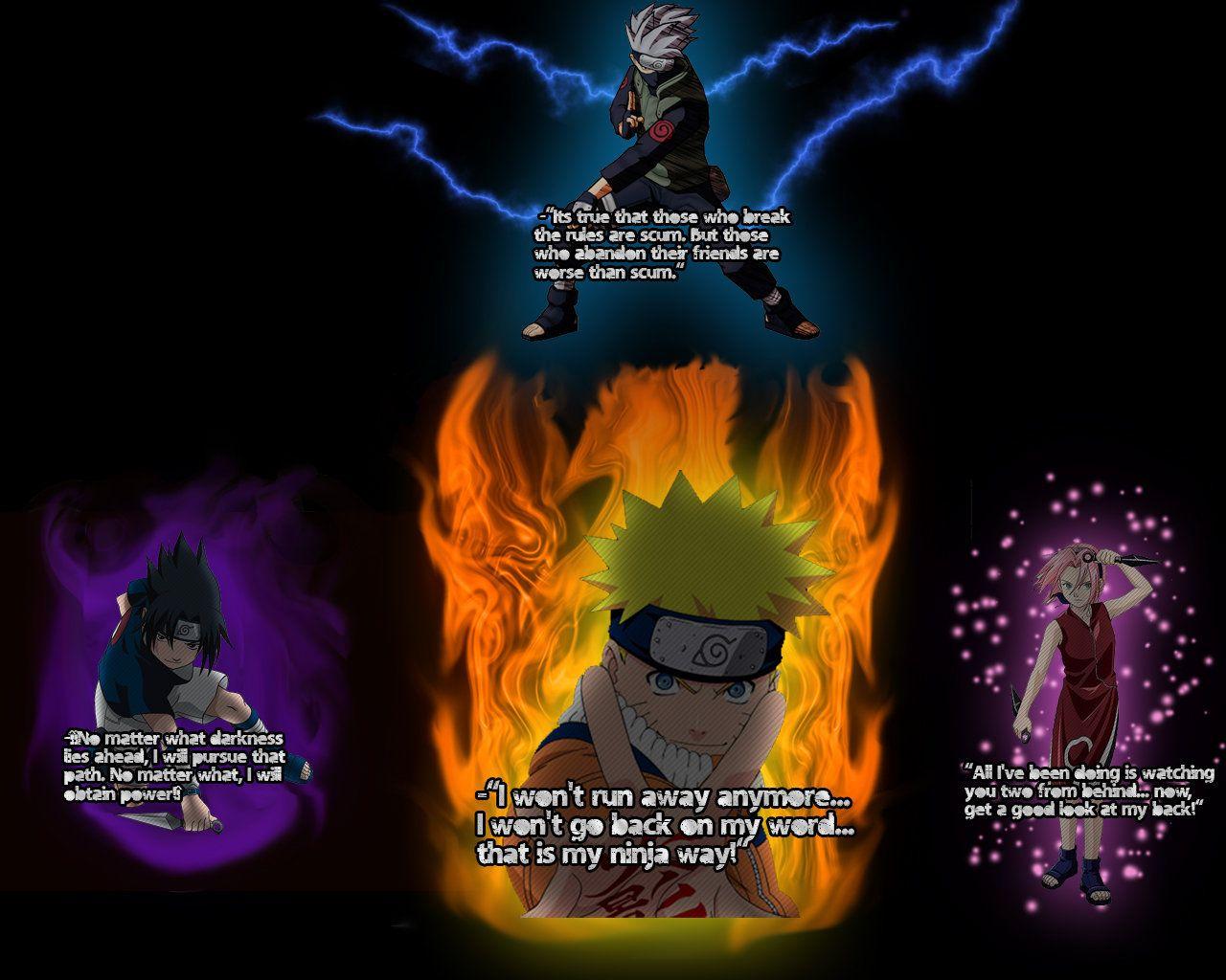 Naruto Quotes Wallpaper