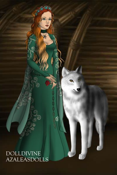 New Character By Skellakitty Created Using The Game Of Thrones Doll Maker Dolldivine Com Royal Clothing Historical Clothing Girl Cartoon