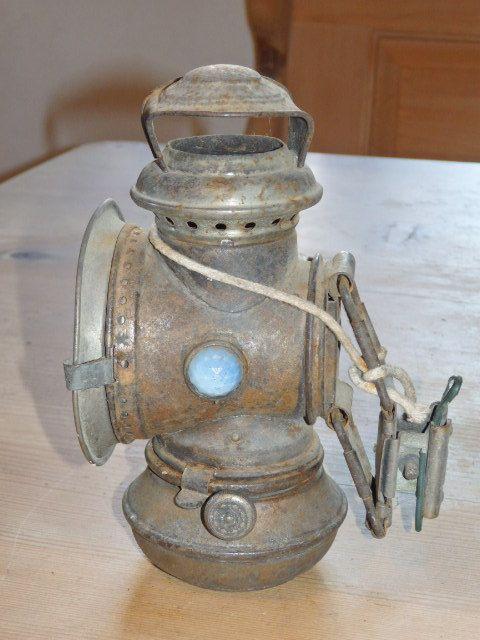 Vintage lantern light Thiel & BardenheuerRuhla, Öllampe
