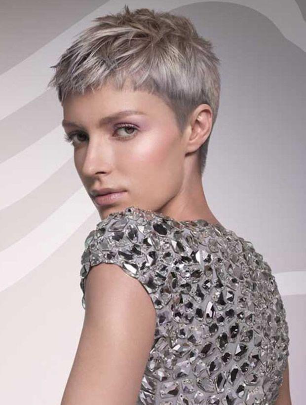kurzhaarschnitte f r graue haare 10 frisuren und makeup pinterest graue haare. Black Bedroom Furniture Sets. Home Design Ideas