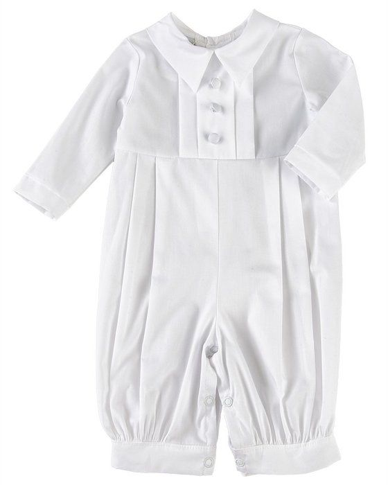 Michael 18 Month 100% Cotton Christening Baptism Blessing Outfit for Boys, Made in USA