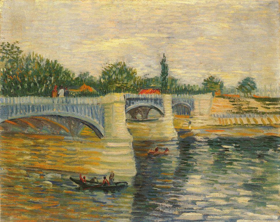 Vincent Van Gogh – The Seine with Pont de la Grande Fatte
