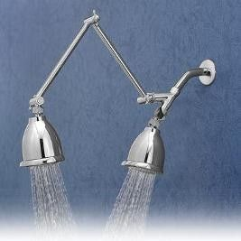 dual shower head bar. \ dual shower head bar 2