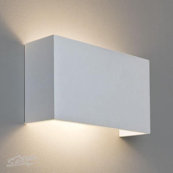 Pella 325 rectangular plaster wall lamp paintable for up and pella 325 rectangular plaster wall lamp paintable for up and down lighting mozeypictures Images