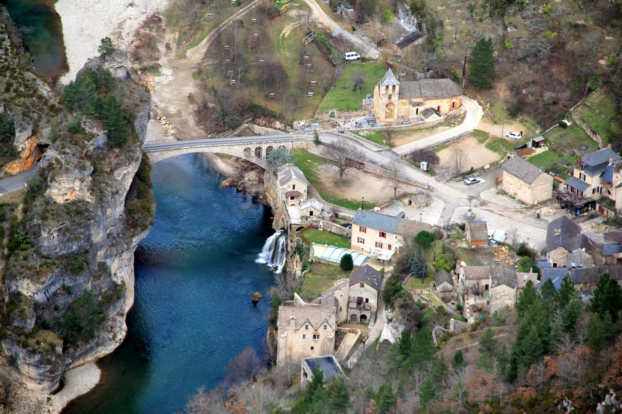 Sete 1 Voyages Gorge Du Tarn Parc National Des Cevennes Lozere