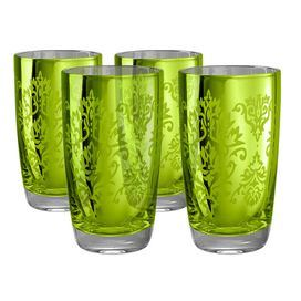 These highball glasses are crisp, modern takes on the classics. Color Lemon Grass