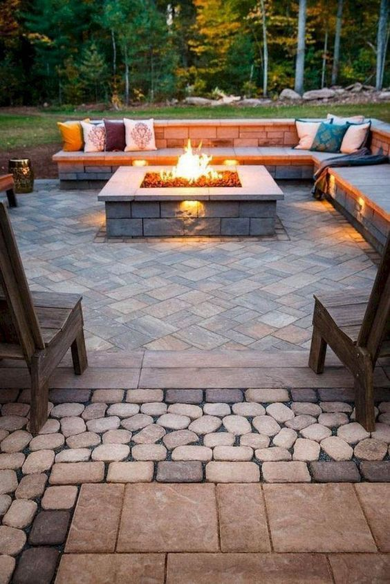 35 Awesome DIY Outdoor Fire Pits Ideas to Make Your Backyard Fun