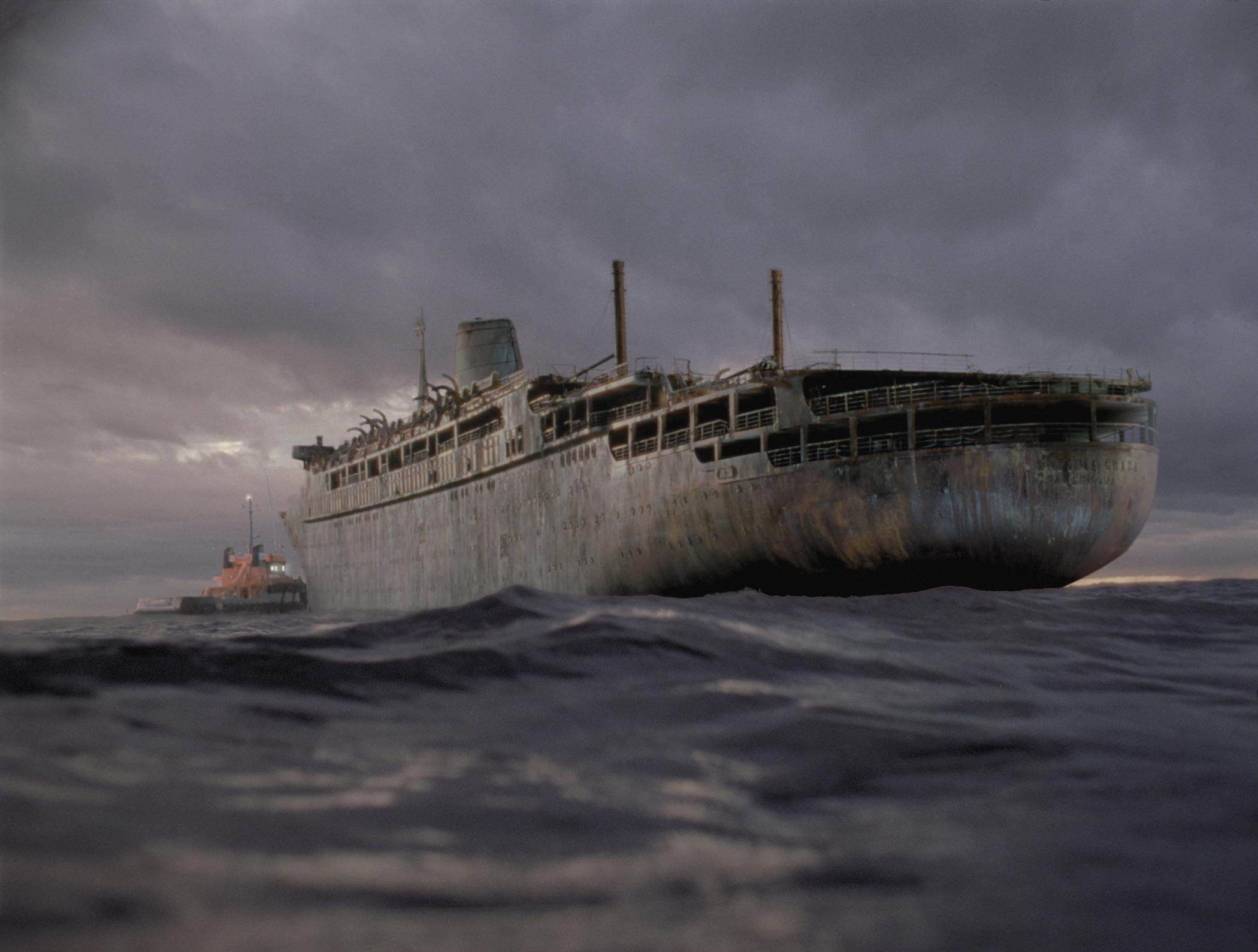 real ghost ship | happy halloween aboard the fictional ss antonia