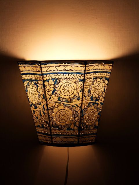 Shadow Lamps shop now handcrafted shadow puppetry or leather puppetry wall lamp