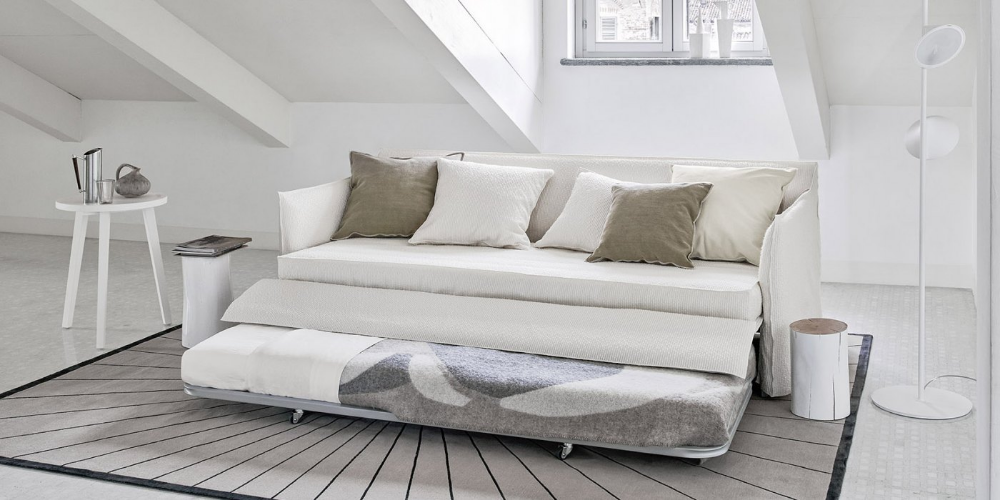 4 Seater Sofa Bed With Removable Cover Ghost 19 By Gervasoni Design Paola Navone In 2020 Upholstered Furniture Sofas 4 Seater Sofa Bed Sofa Furniture