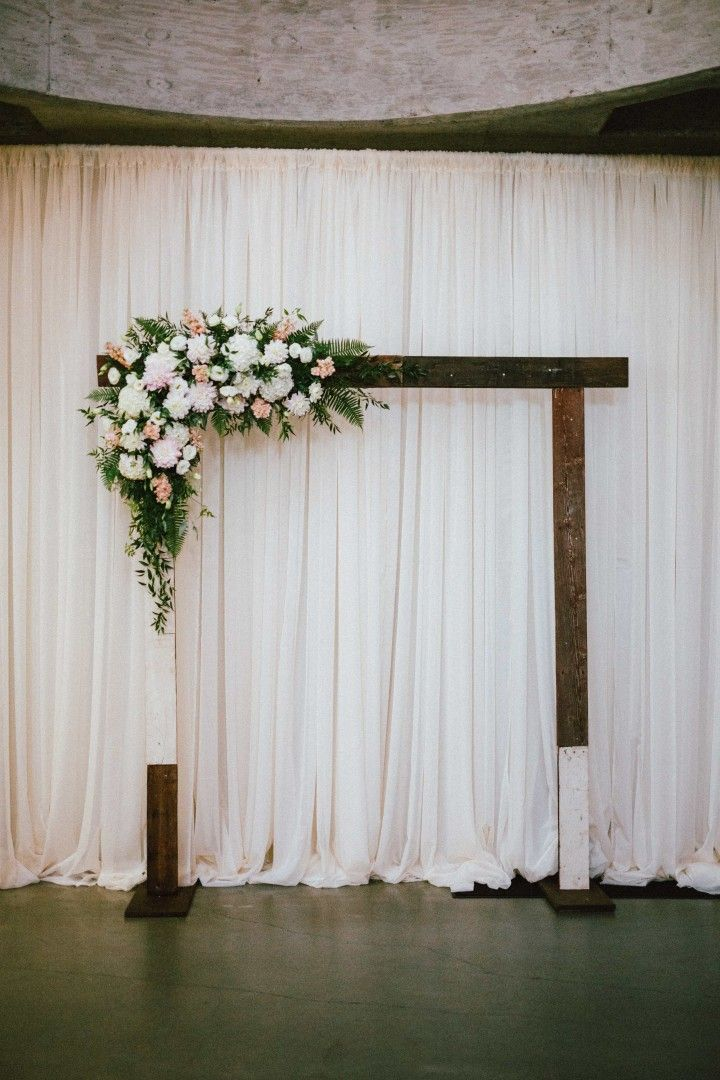 Effortlessly chic portland wedding wedding ceremony ideas effortlessly chic portland wedding diy wedding arch junglespirit Choice Image