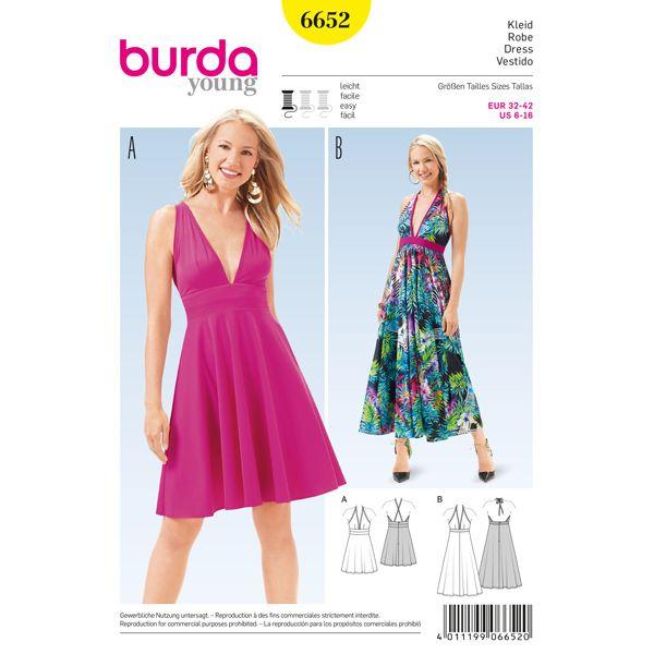 Klänning, Burda 6652