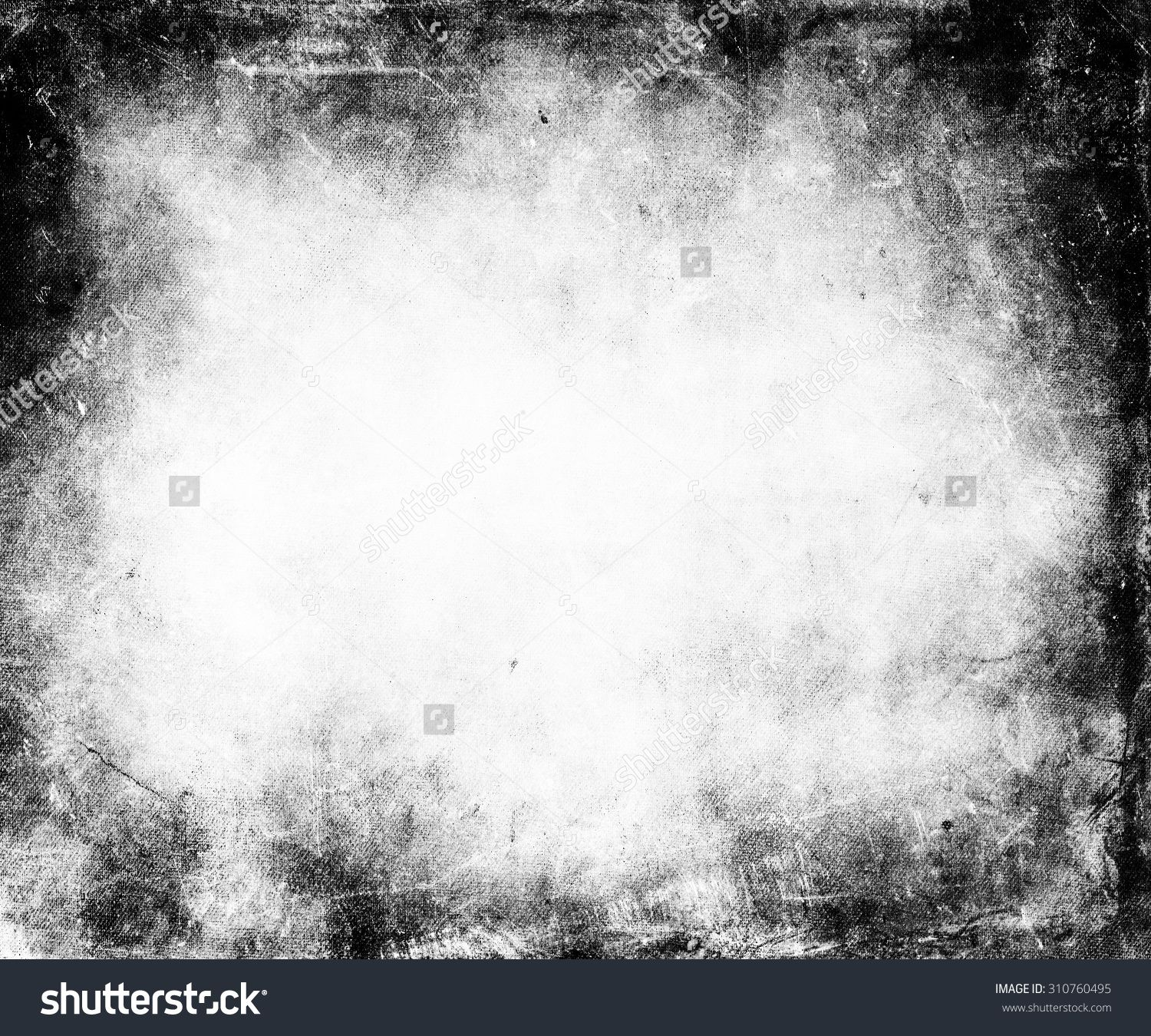 Black White Grunge Texture Background Stock Foto 310760495
