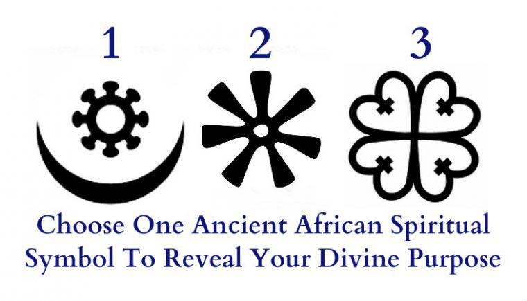 Choose One Ancient African Spiritual Symbol To Reveal Your Divine