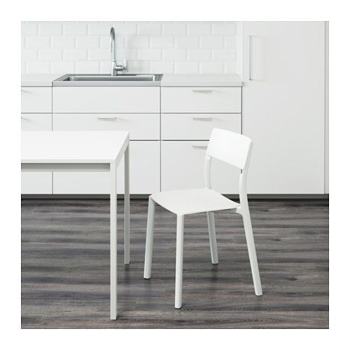 IKEA JANINGE White Chair   items for home   Ikea chair, Ikea