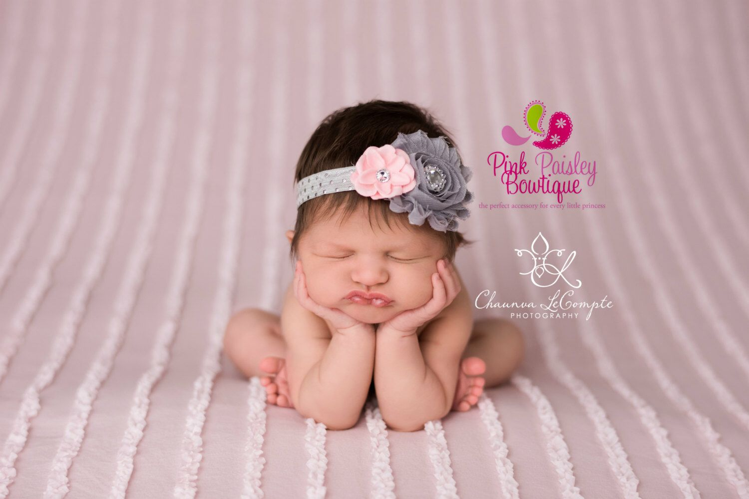 Infant headbands Baby girl headband Baby headbands Baby Bows Pink baby hairbows Newborn Photography prop Baby Hair Accessories