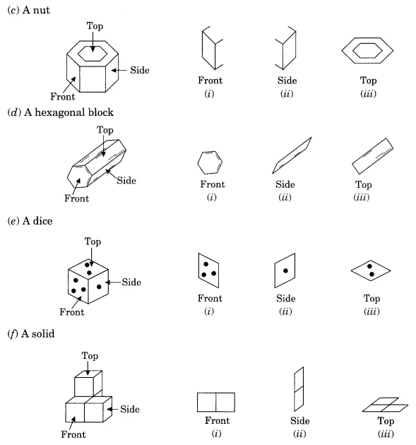 Ncert Solutions For Class 8 Maths Chapter 10 Visualising Solid Shapes With Images Math Learning Shapes Class 8