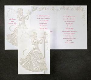 DEBUTANTEWHITE Invitation Sample JJ955487 Selena Quince Party