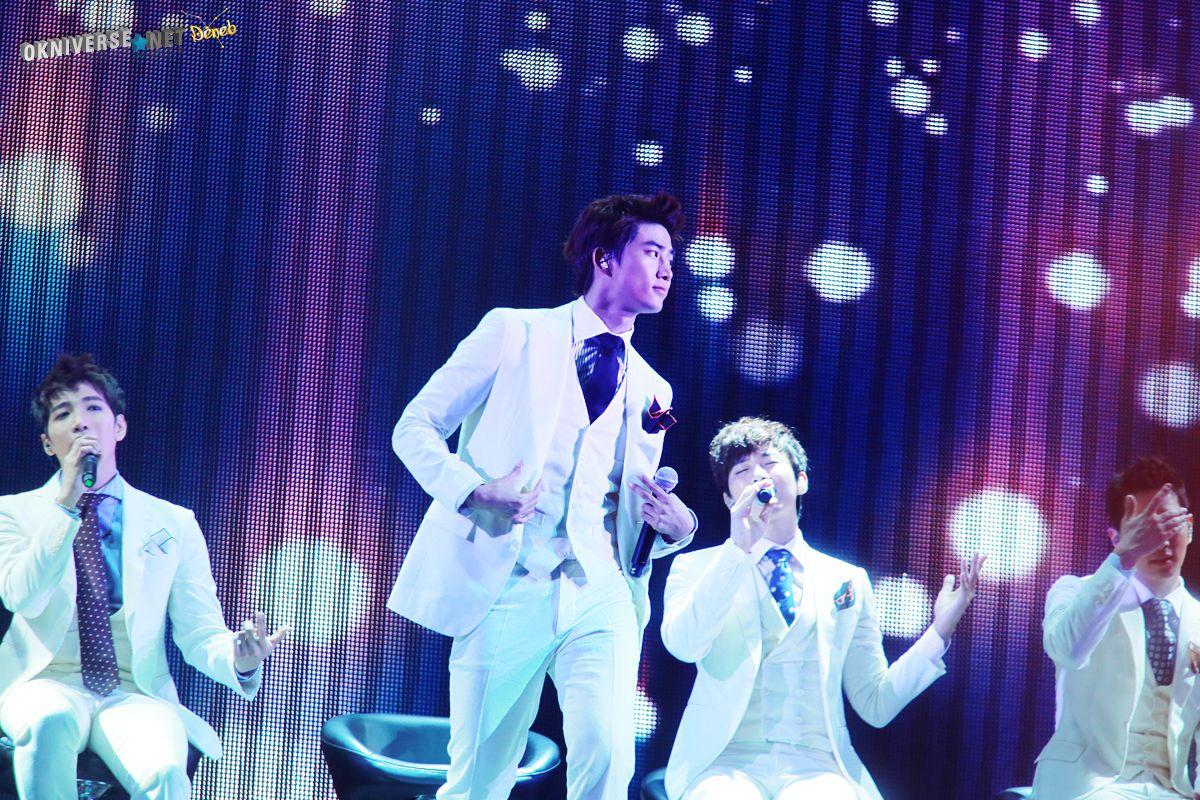 Ok Taecyeon with Jun. K Junho and Chansung