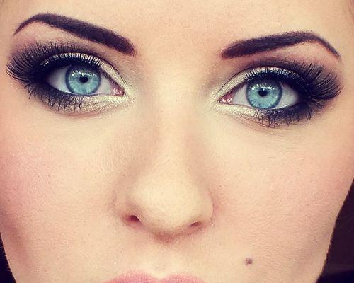 Makeup Ideas For Blue Eyes Blue Eye Makeup Brown Hair Blue Eyes