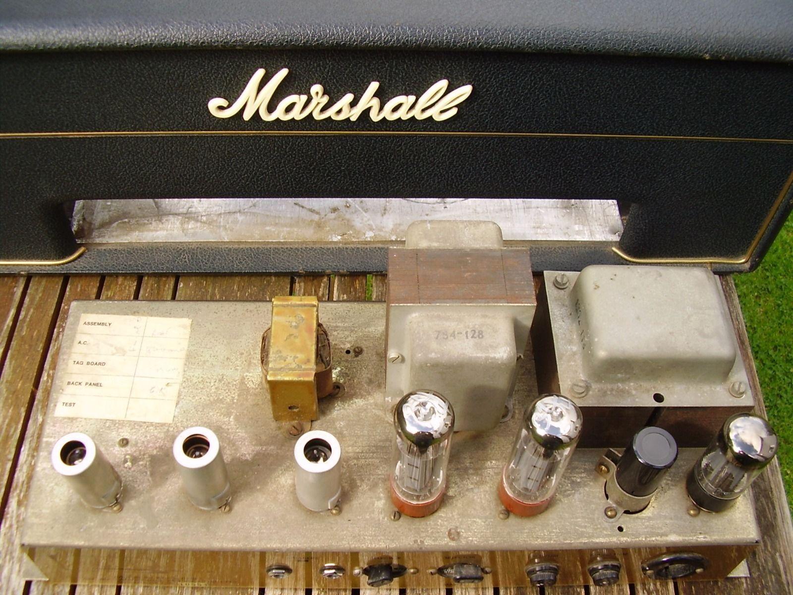MARSHALL 1967 PLEXI JTM 50 WATT ORIGINAL 60S | eBay