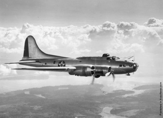 WWII Vintage Aviation  GRP-0103 Boeing Grouping for B-17 Flying Fortress