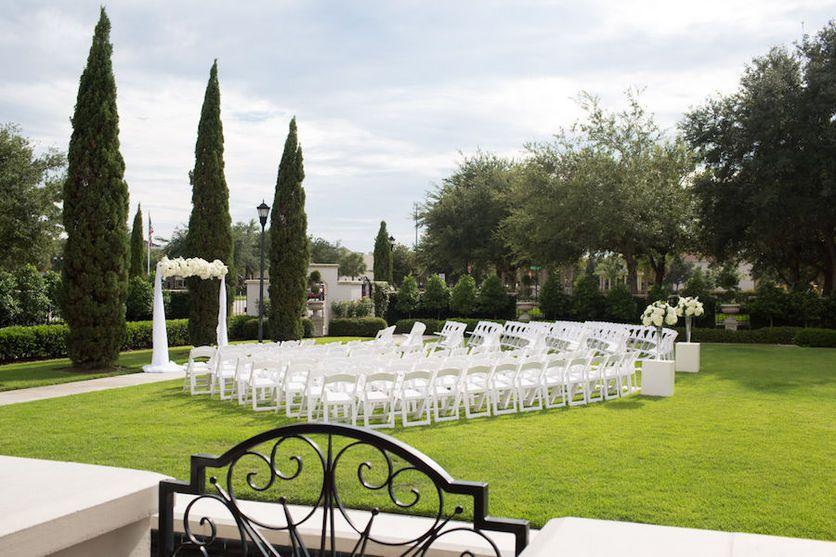 Tampa Bay Outdoor Garden Wedding Ceremony Venue The Palmetto Club ...