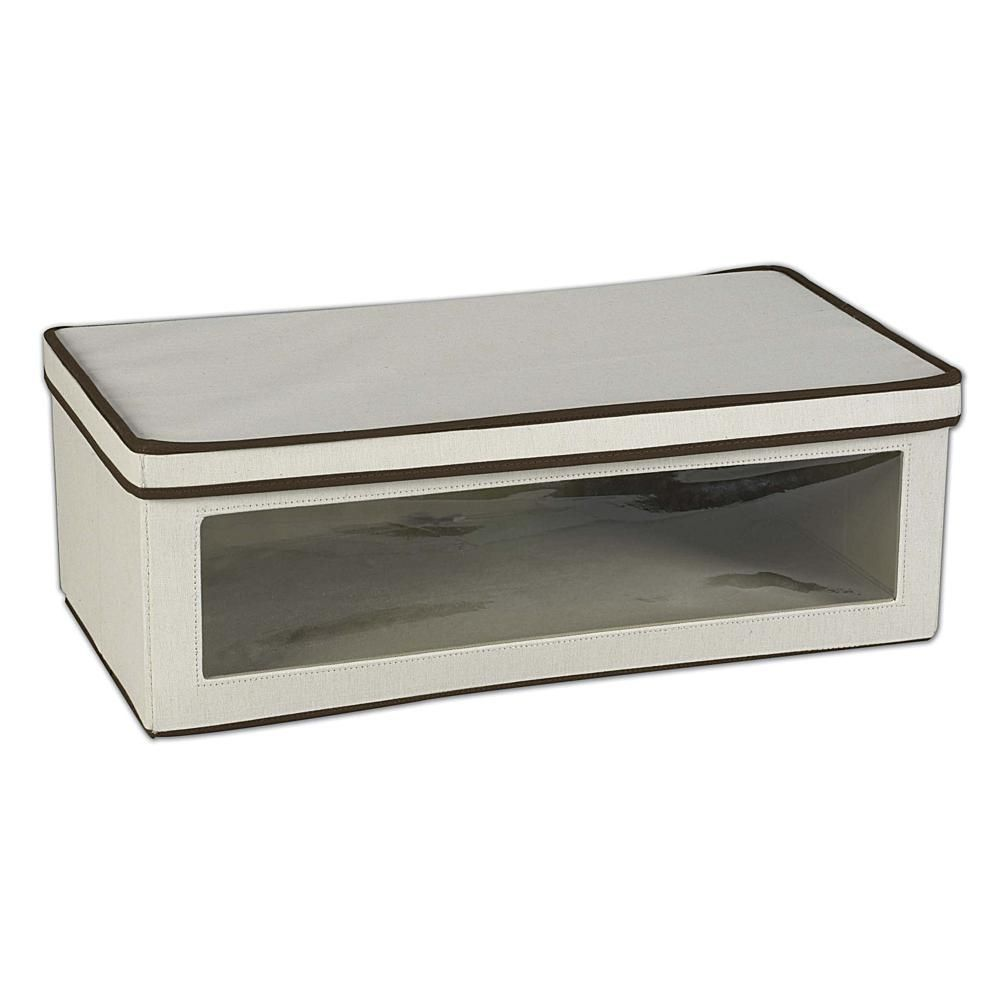 Household essentials vision storage box jumbo storage boxes