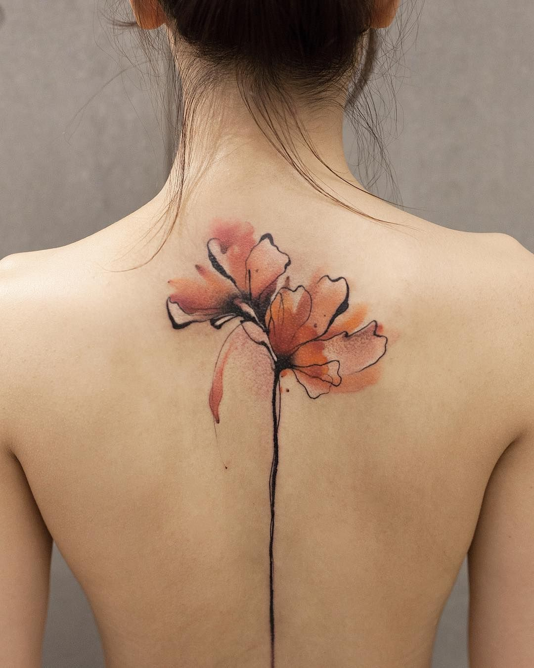 Watercolor Tattoos Will Turn Your Body Into A Living Canvas Idee