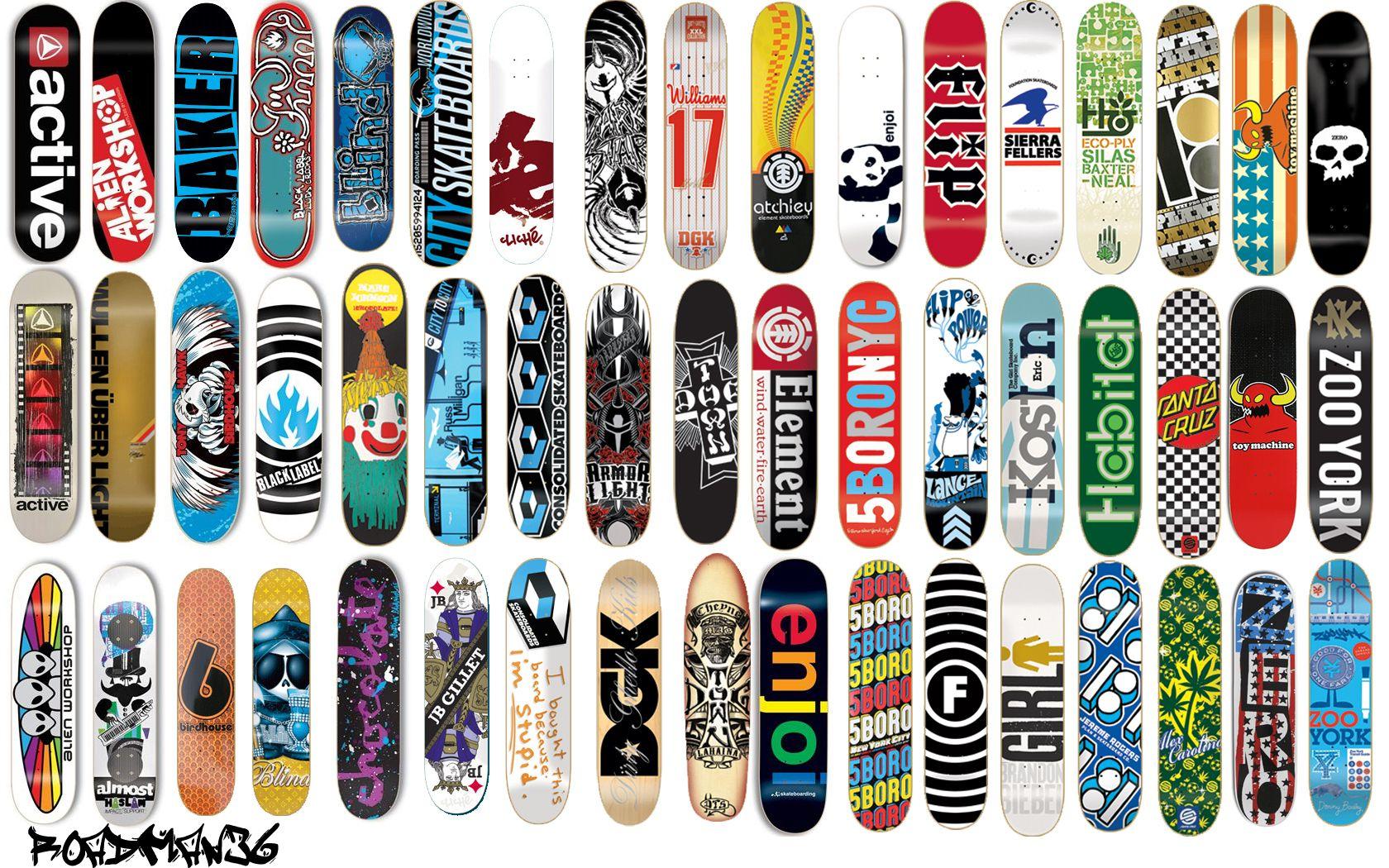 More Great skateboard deck designs! | Skateboard&Graffiti Art ...