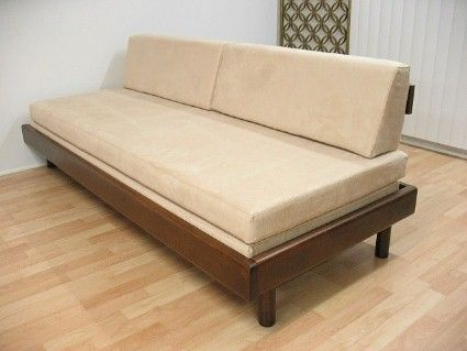 Super Mid Century Danish Modern Trundle Daybed Sofa Eames Era Alphanode Cool Chair Designs And Ideas Alphanodeonline