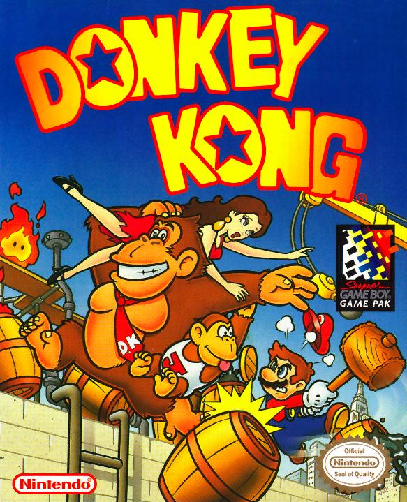 Gameandgraphics Donkey Kong Cover Art Game Boy 1994 Nintendo Juegos Retro Donkey Kong