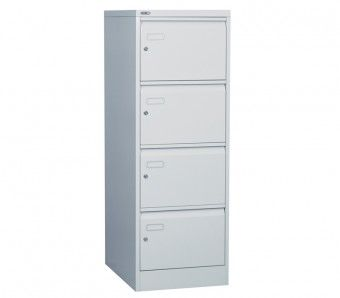 4 Drawer Security Filing Cabinet With Individual Locking Filing Cabinet Steel Filing Cabinet Cabinet 4 drawer locking file cabinets