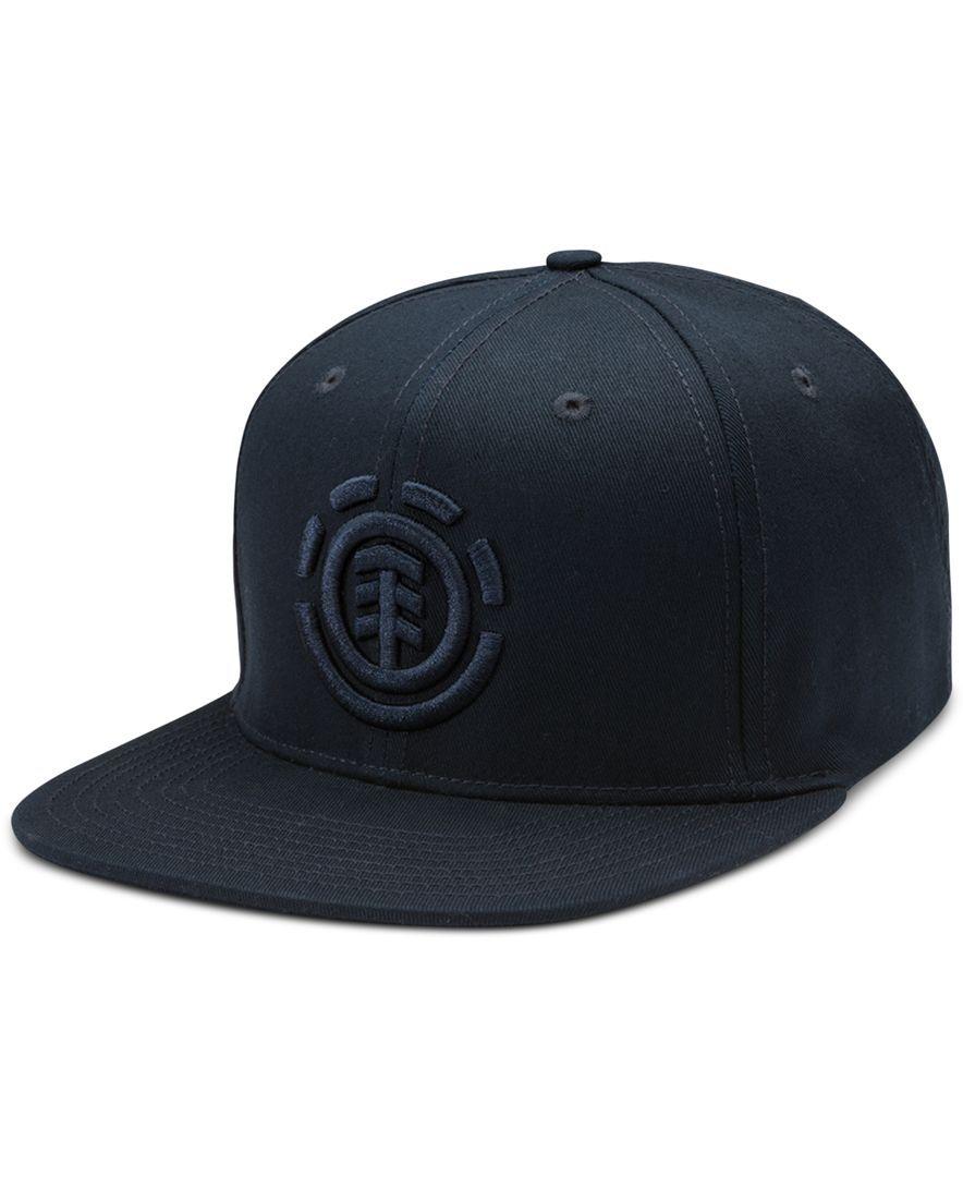 Element Trucker Flatbill Cap ~ Knutsen black
