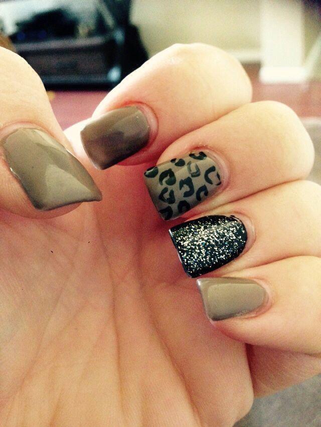 Pin by Souzi Issac on NAiLS   Cheetah print nails, Leopard