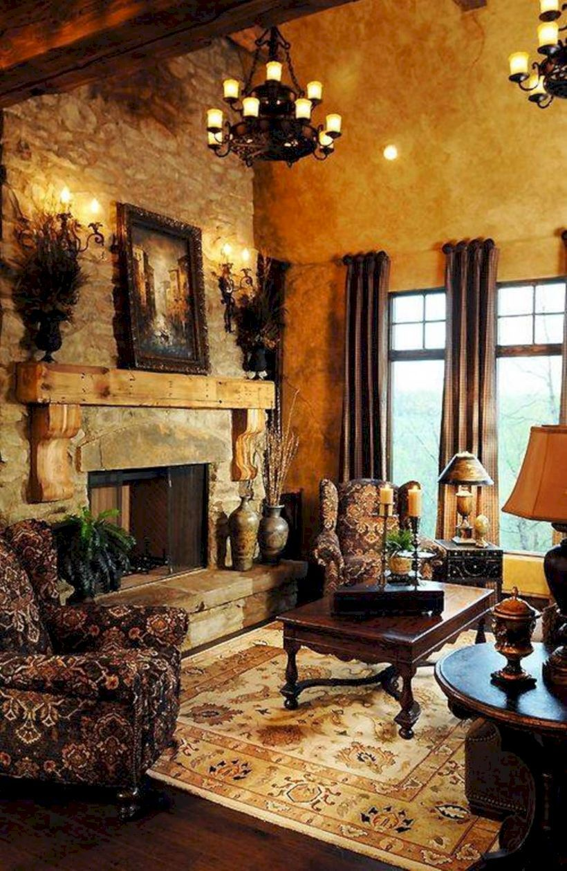 Italian Living Room Design: 47 Superb Italian Countryside In Rural Décor Ideas For