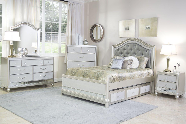 Mor Furniture for Less: The Lil Diva Platform Bedroom | Mor ...