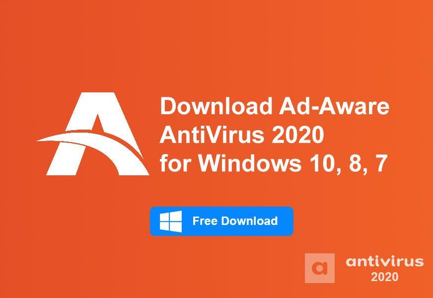 Download AdAware AntiVirus 2020 for Windows 10, 8, 7