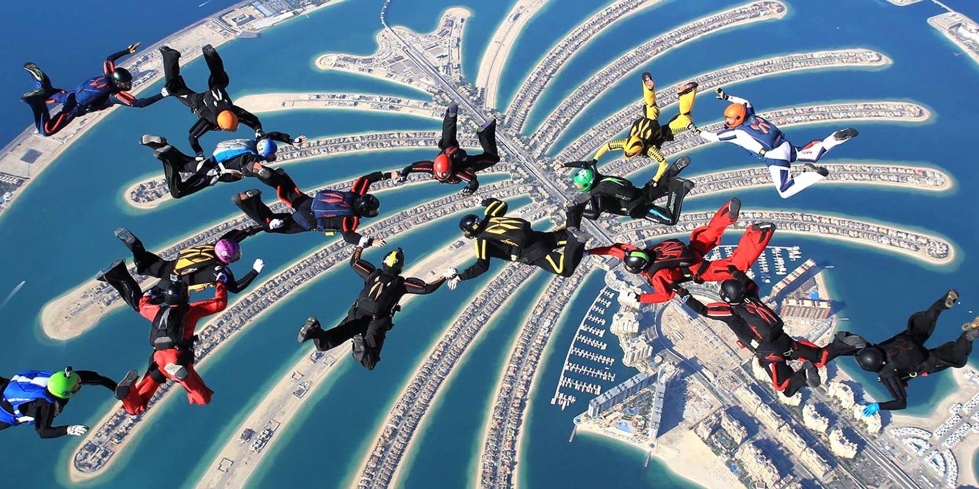 The journey of Skydive Dubai started when H.E. Nasser Al ...