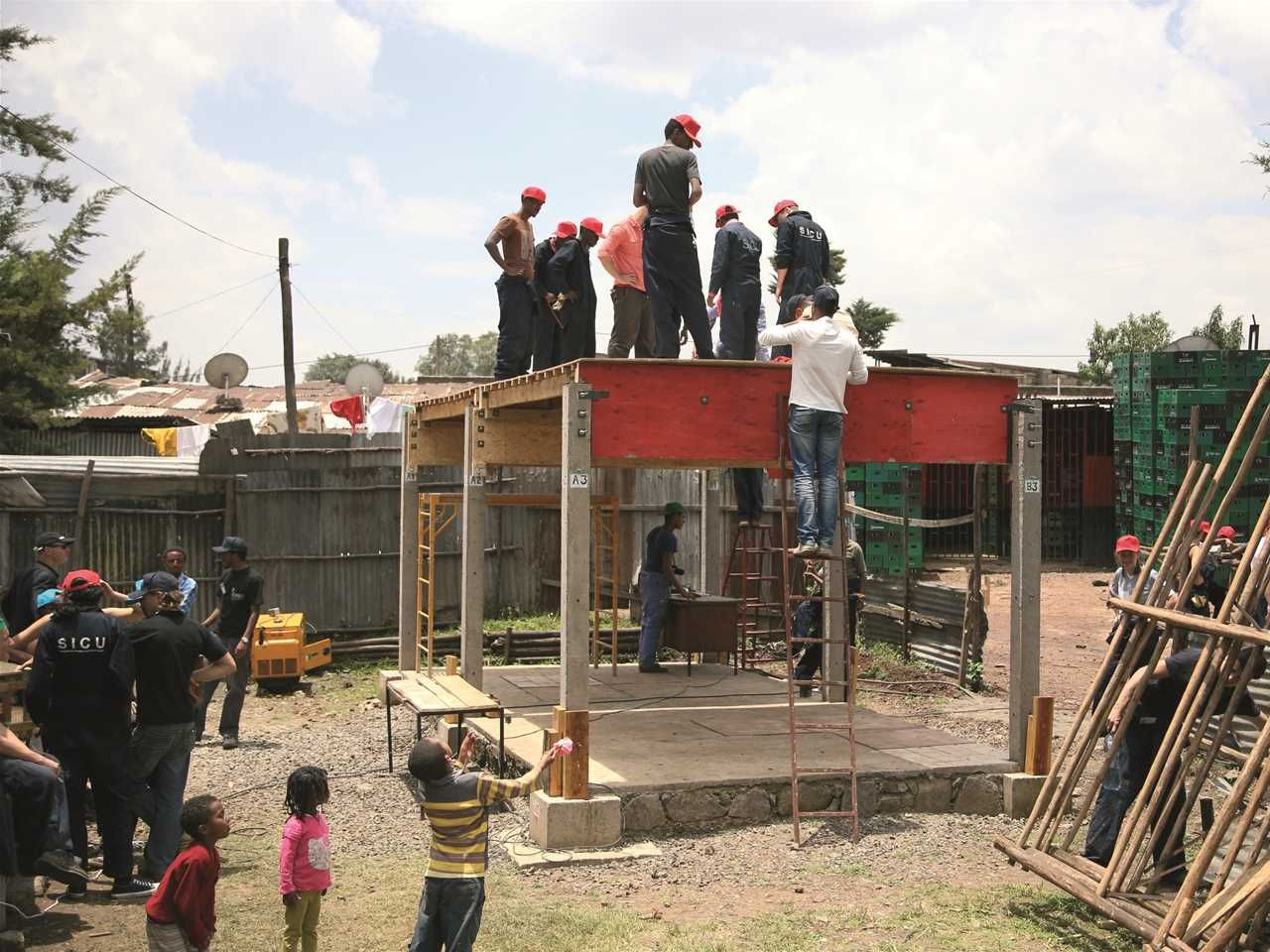 Incremental Construction Low cost modular housing scheme Addis