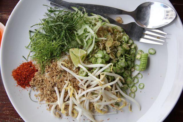 Khao Yam (Rice Salad) ข้าวยำ by Migration Mark, via Flickr