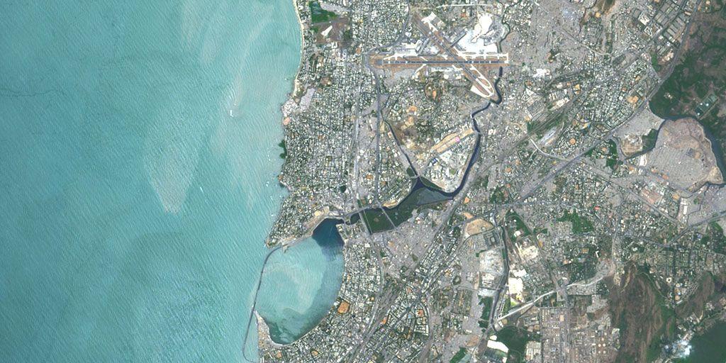 Mumbai, India – PlanetSAT satellite image
