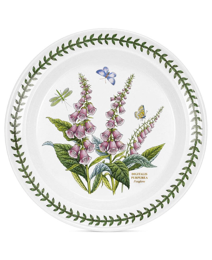 Awesome Portmeirion Dinnerware, Botanic Garden Dinner Plate