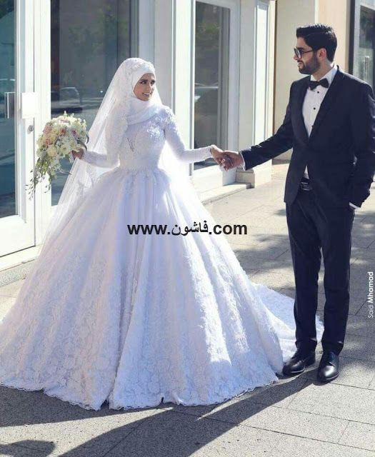 فساتين زفاف للمحجبات 2018 Muslim Wedding Dresses Muslim Wedding Gown New Wedding Dresses
